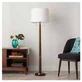 Threshold Franklin Floor Lamp - Ebony