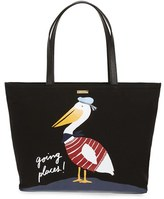 Kate Spade 'expand Your Horizons - Pelican Francis' Canvas Tote