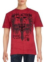 Affliction Logo Printed Tee
