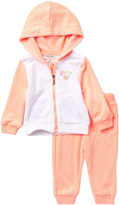 Juicy Couture Hoodie & Pants Set (Baby Girls 12-24M)