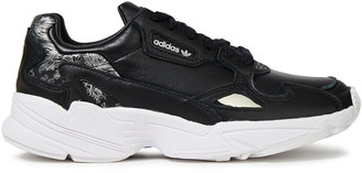 adidas Metallic Printed Leather Sneakers