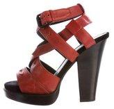 Bottega Veneta Cutout Platform Sandals