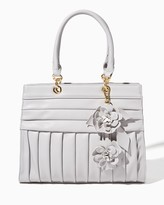Charming charlie Carter Pleated Satchel