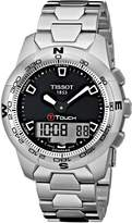 Tissot Men's T0474201105100 T-Touch II Digital Multi Function Watch