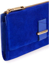 "Oasis LEATHER DEX PURSE [span class=""variation_color_heading""]- Mid Blue[/span]"