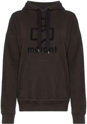 Etoile Isabel Marant Mansel logo hoodie