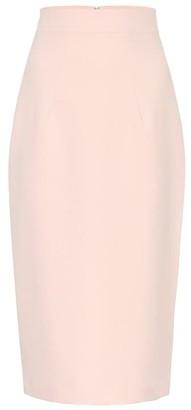 Safiyaa Hokoko crepe pencil skirt