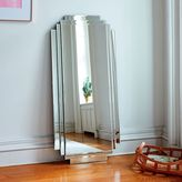 west elm Stepped Floor Mirror