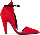 Calvin Klein graphic high heeled pumps