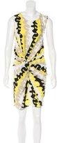 Diane von Furstenberg Knotted Silk Dress