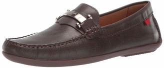 Marc Joseph New York Mens Genuine Leather Made in Brazil Bryant Park Driver Driving Style Loafer black nappa 9.5 M US