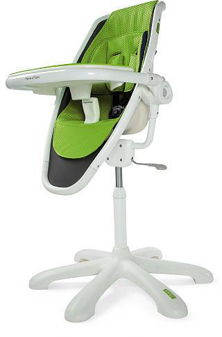 Mamas & Papas Loop High Chair - White/Lime