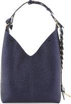 Anya Hindmarch Build-A-Bag small leather bucket bag