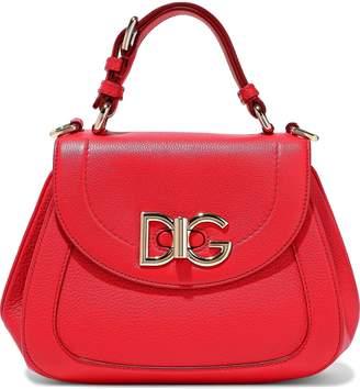 Dolce & Gabbana Wifi Pebbled-leather Shoulder Bag