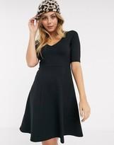 Pimkie jersey a line dress in black