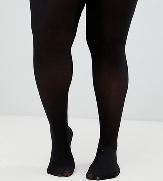 ASOS DESIGN Curve 40 denier black tights