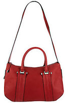 B. Makowsky B.Makowsky Glove Leather Zip Top Convertible Satchel