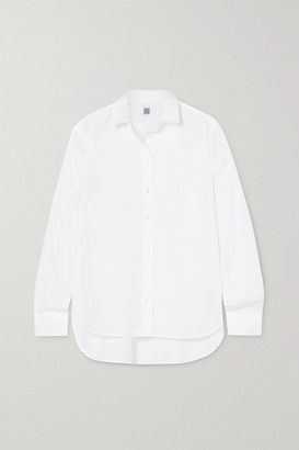 Totême Signature Cotton-poplin Shirt - White