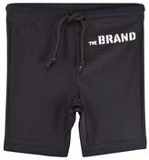 The BRAND Black Swim Biker Shorts