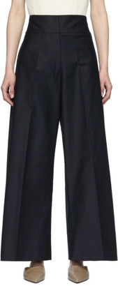 Jil Sander Navy Sailor Trousers