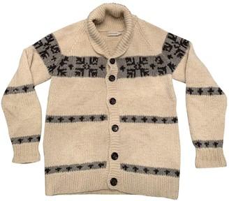 Moncler Ecru Wool Knitwear & Sweatshirts