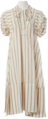 Chloé \N Ecru Silk Dresses