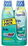 Coppertone Kids Sunscreen Continuous Spray SPF 50, 6 fl oz (2-pack) - Buy Packs and SAVE (Pack of 3)
