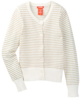 Joe Fresh Striped Cardi (Little Girls & Big Girls)
