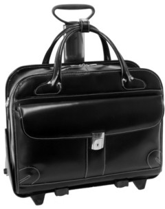 "McKlein Lakewood, 15"" Fly-Through Checkpoint-Friendly Ladies Laptop Briefcase"