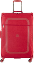Delsey Dauphine 2 4 Wheel Trolley Case - Red - 77x50cm