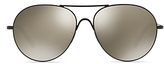 Oliver Peoples Rockmore Mirrored Sunglasses, 58mm
