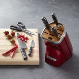 KitchenAid 7-Piece Professional Knife Set, Candy Apple Red