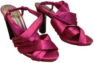 Diane von Furstenberg Pink Cloth Heels