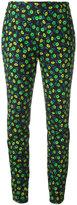 Prada floral print slim-fit trousers