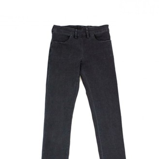Acne Studios Grey Cotton - elasthane Jeans for Women
