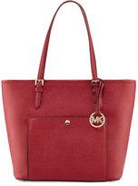 MICHAEL Michael Kors Jet Set Item Medium Saffiano Tote Bag, Cherry