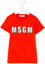 MSGM logo T-shirt - kids - Cotton - 4 yrs