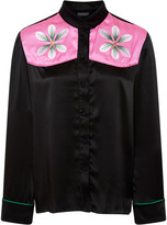Cynthia Rowley Floral embroidered top