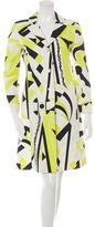 Emilio Pucci Printed Knee-Length Coat