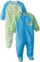 Gerber 2 Pack Sleep N' Play - Cars (Baby) - Blue-Newborn
