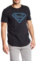 Kinetix Superman Geometric Crew Neck Tee