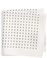 BOSS Men's Dot Silk Pocket Square