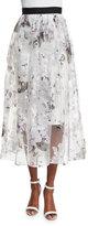 Sachin + Babi Floral-Print A-line Midi Skirt