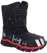 Star Wars Toddler Boys' License Double Velcro Strap Winter Boots - Black