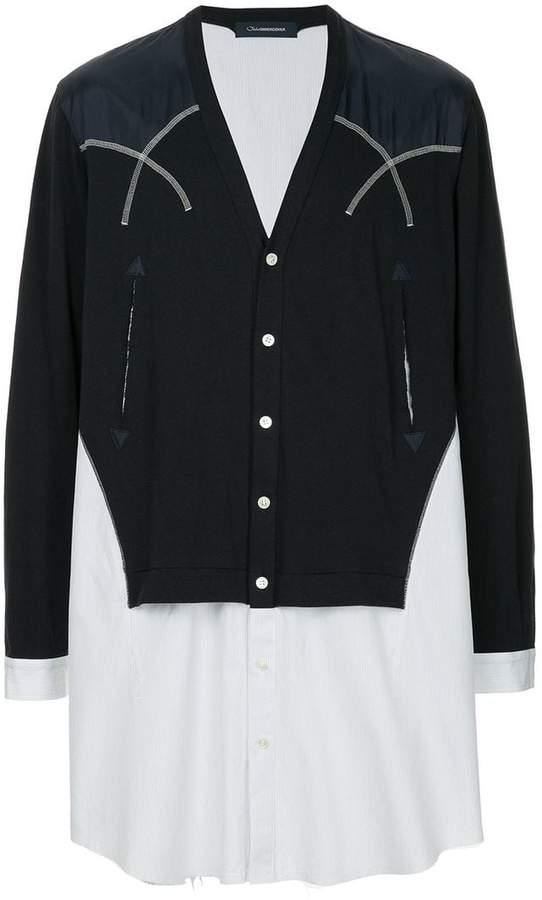 John Undercover V-neck button cardigan