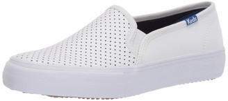 Keds Women's Double Decker Perf Leather Fashion Sneakers