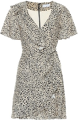 Rebecca Vallance Anya leopard wrap dress