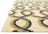 """Danko Hand Hooked Ivory/Blue Indoor /Outdoor Area Rug Wrought Studio Rug Size: Rectangle 2'3"""" x 3'9"""""""