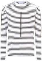 Neil Barrett Striped Long Sleeve T-Shirt