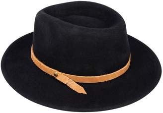 Frye Flat-Brim Wool Panama Hat